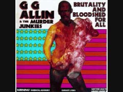 Gg Allin - My Sadistic Killing Spree