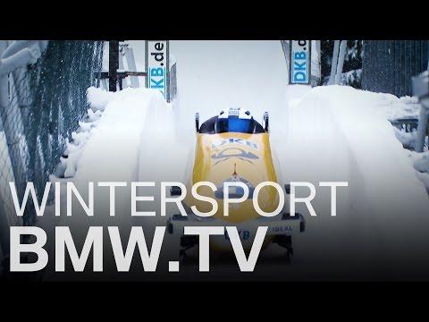 BMW Wintersport. Fahrfreude im Bob.
