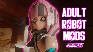 Fallout 4 - JAPANESE BIG TIDDY MAID ROBOTS - MAID: Brand New Assaultron Mod (Fallout 4 Mods)
