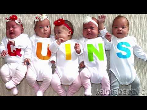Пятерняшки из Австралии, Зачатые и Рожденные Естественным Способом -1 Случай на 85 Миллионов!