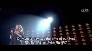 Adele Video - Adele - Someone Like You [皇家亞伯廳-中英歌詞]