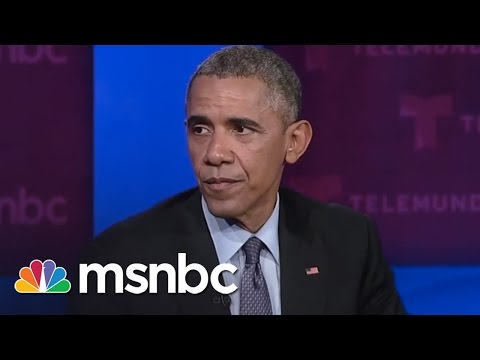 Obama To Congress: Pass Immigration Reform Law | msnbc