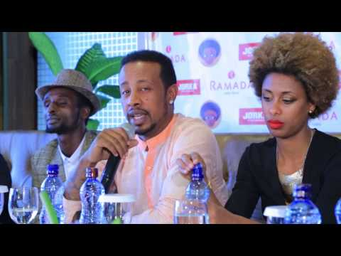 Ethiopia's top artists give Press conference about Ethiopia Concert 2017