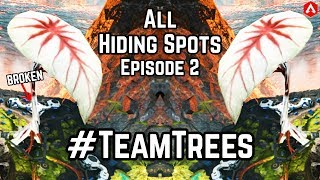 18 Hiding Spots Ep 2: #TEAMTREES - 'The Tree'! Effective for Ranked End Circles Apex Legends