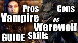 download lagu Eso Vampire Vs Werewolf *all* Skills Pros & Cons gratis