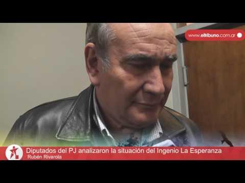 Diputados del PJ analizaron la situación del Ingenio La Esperanza