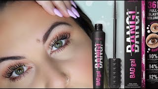 *NEW* Benefit BAD GAL BANG MASCARA REVIEW!