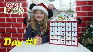 Disney Surprise Toys Advent Calendar Day 1 Surprise Presents + Toy Opening The Disney Toy Collector