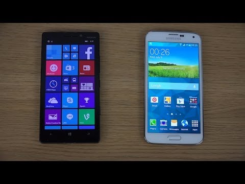 Nokia Lumia 930 vs. Samsung Galaxy S5 - Review (4K)