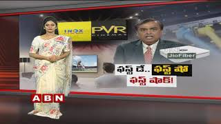 Reliance Jio's First Day First Show is Worrying Multiplexes?   Jio Gigafiber   ABN Telugu