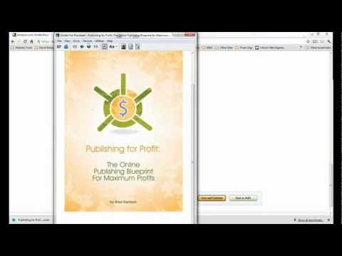 Kindle Formating Tutorial 2 - Formatting Word File & Uploading to KDP