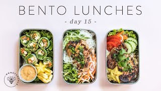3 Healthy Vietnamese BENTO BOX LUNCHES 🐝 DAY 15 | HONEYSUCKLE