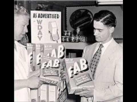 Comercial de Radio 1947 - Detergente FAB (Mexico)