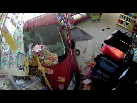 Drink Driver Ploughs Through Shop