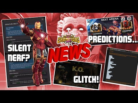 Silent Iron Man Nerf? Game Down, Glitches, Arena and More [MCN]
