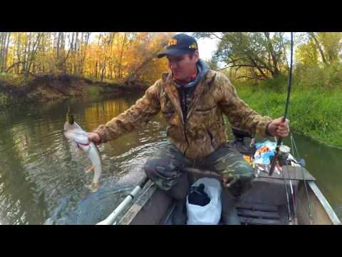 рыбалка видео на средних и малых реках