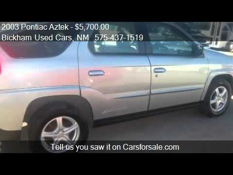 2003 Pontiac Aztek FWD - for sale in Alamogordo, NM 88310