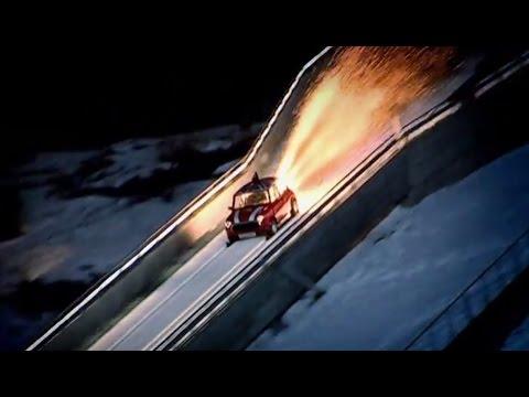 Mini Ski Jump (Part 2) Top Gear Winter Olympics | BBC