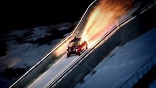 Mini Ski Jump (Part 2) Top Gear Winter Olympics | BBC