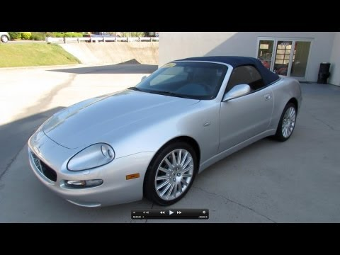 2002 Maserati Spyder Cambiocorsa Start Up. Exhaust. and In Depth Review