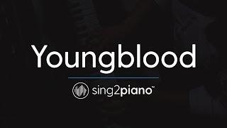 Download Lagu Youngblood (Piano Karaoke Instrumental) 5 Seconds of Summer Gratis STAFABAND