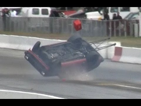 7 second Toyota Starlet CRASH on THE ROOF! - MIR World Cup Finals 2012