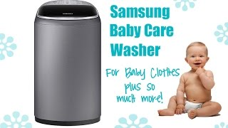 Samsung Baby Care Washer Review by Baby Gizmo