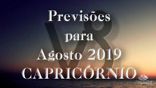 CAPRICÓRNIO Agosto 2019 - Milagres?