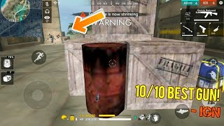 TRYING OUT THE OIL BARREL! 😳😳 [Update] - Garena Free Fire