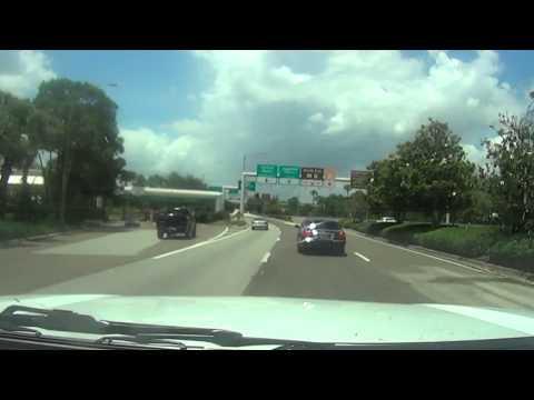 Rental Car Return (Alamo) - Orlando International Airport (MCO) Terminal B