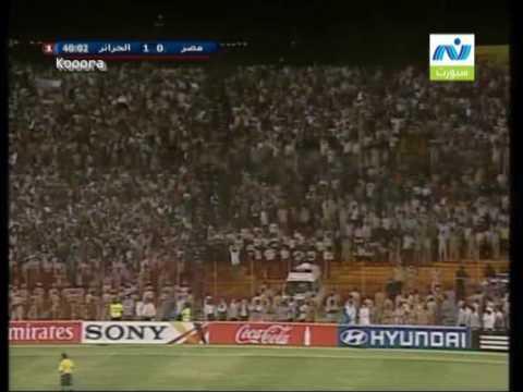 lAlgerie vs egypt  1-0  nile sport  تعليق حازم الكاديكي