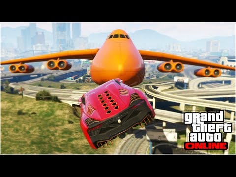 INSANE GTA 5 STUNTS & FAILS (GTA 5 Online Funny Moments)