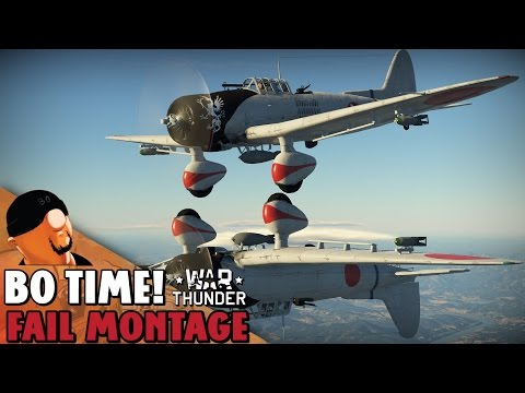 War Thunder - Fail Montage #61
