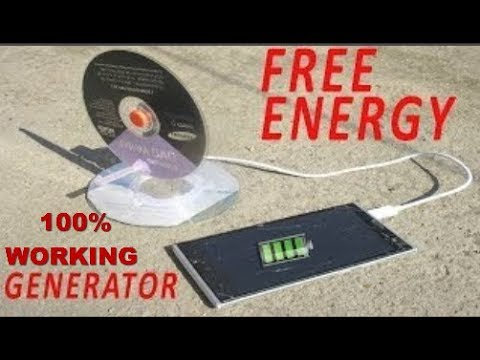 How To Make Free Energy Mobile Phone Charger - Free Lifetime Charger