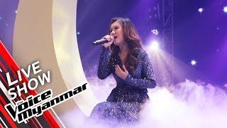 Nyo Mie Mie Htun: ငါရဲ႕လမင္း (Lay Phyu) | Live Show - The Voice Myanmar 2019