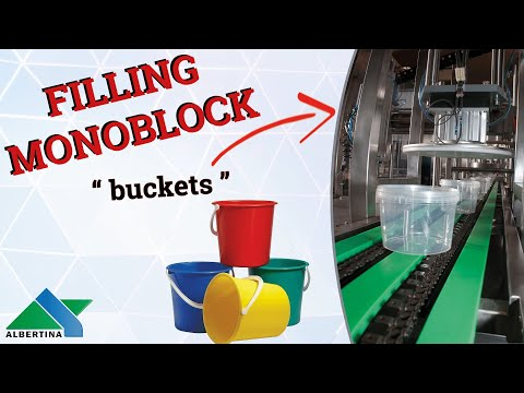 Albertina - filling and capping monoblock for buckets