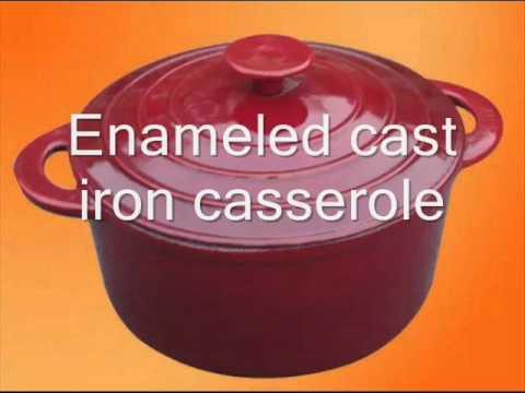 Casserole  Enameled Cast Iron Casserole  WSOAR