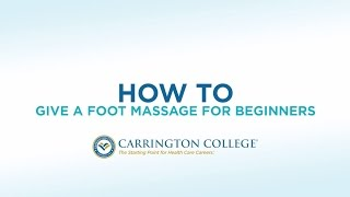 Massage Therapist's Guide To Giving a Great Foot Massage