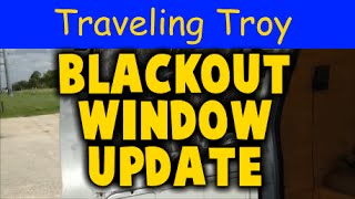 Campervan Blackout Window Coverings Update