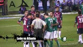 León vs Atlante Apertura 2013