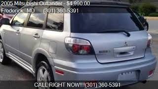 2005 Mitsubishi Outlander Limited AWD 4dr SUV for sale in Fr