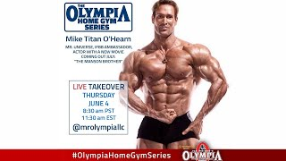 Chest Training For Olympia Live Home Gym Series