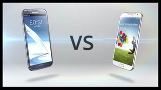 Galaxy S4 vs Galaxy Note 2