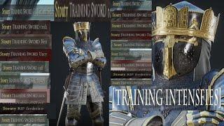 Killing the entire server with the training sword - Mordhau