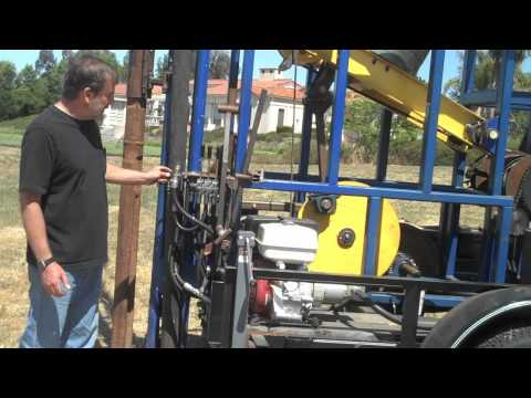 San Luis Obispo Rotary Club Water Well Drill Rig