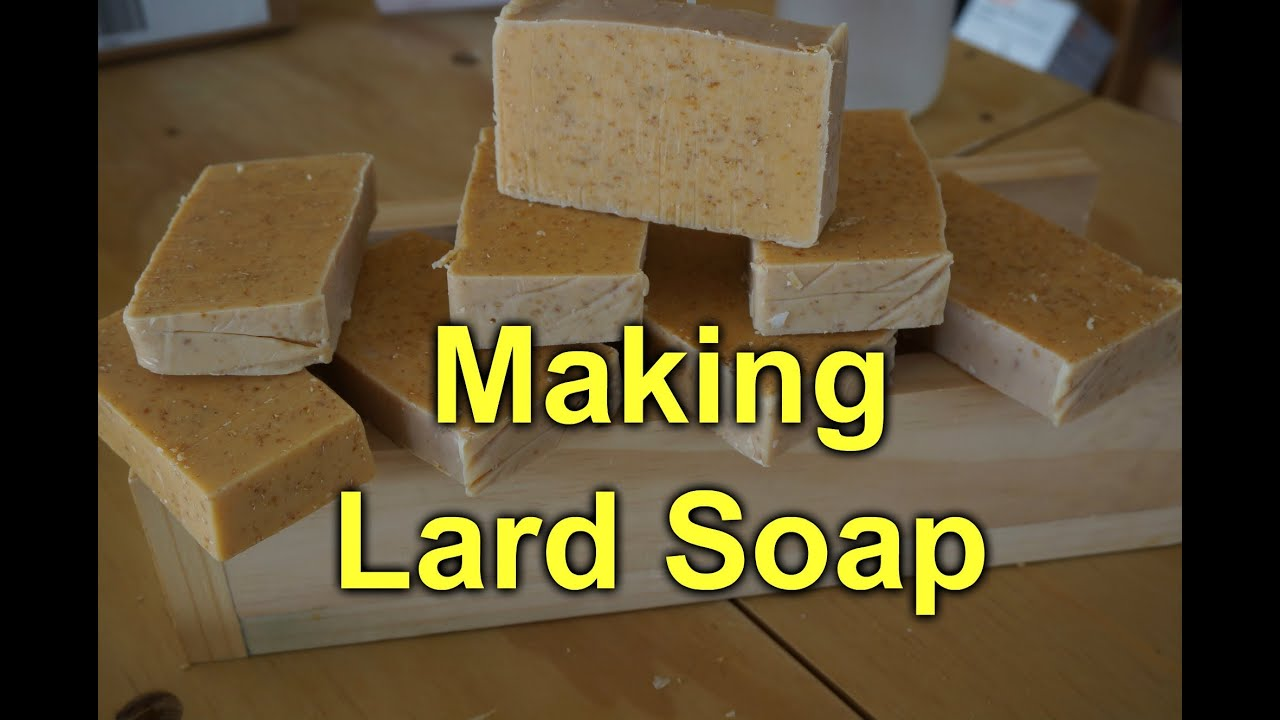 how to make soap from fat