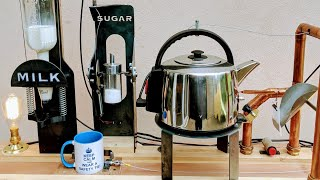 Building a Furze Tea Machine