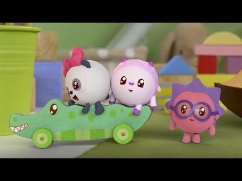Малышарики - Зеленука - серия 31 - обучающие мультфильмы для малышей 0-4