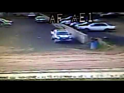 Rayo impacta patrulla de Tulancingo
