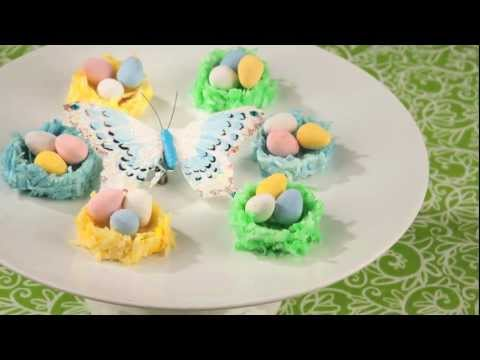 HERSHEY'S - Easter Recipe - Coconut Marshmallow Nests